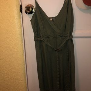 PacSun Dresses - olive green dress from LA HEARTS (pacsun)